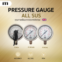 Pressure Gauge ALL SUS iTi