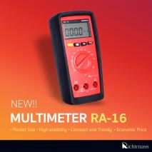 Digital Multi Meter มัลติมิเตอร์ RA-16