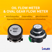 Oil Flow Meter / Oval Gear Flow Meter