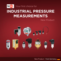 Your first choice for Industrial Pressure Measurements.