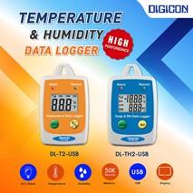 เครื่องบันทึกอุณหภูมิ-ความชื้นแบบพกพา (Temperature Humidity Data Logger)