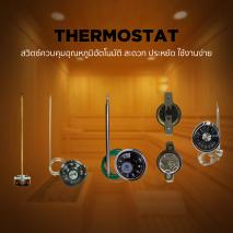สวิทซ์ควบคุมอุณหภูมิอัตโนมัติ / Thermostat