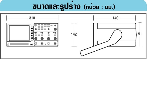 GW-INSTEK GDS-1062A ดิจิตอลสตอเรจออสซิลโลสโคป