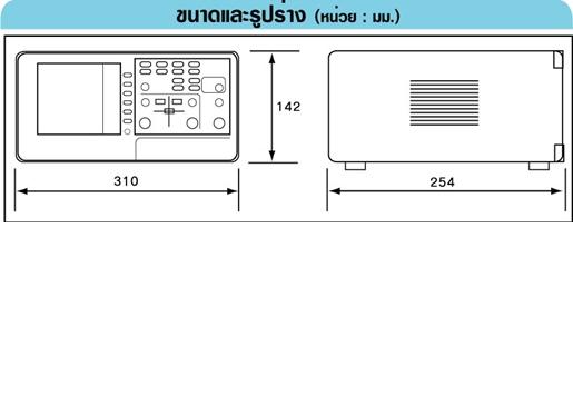 GW-INSTEK GDS-810S ดิจิตอลสตอเรจออสซิลโลสโคป