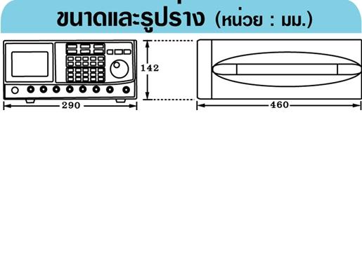 GW-INSTEK GFG-3015 เครื่องกำเนิดสัญญาณ
