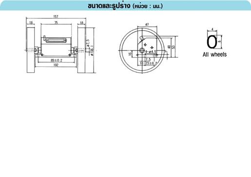 LINE RY-3:10 SERIES เครื่องวัดความยาวแบบใช้งานหนัก