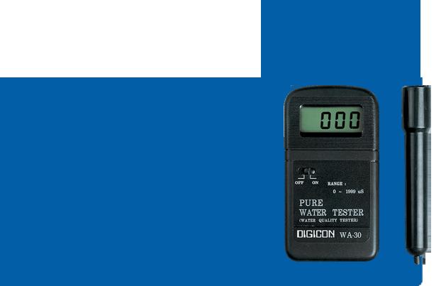เครื่องวัดและทดสอบคุณภาพน้ำ