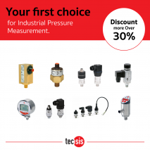 Your first choice for industrial Pressure Measurement