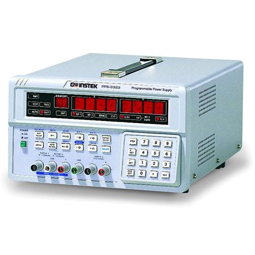 GW INSTEK PPE-3323  แหล่งจ่ายไฟกระแสตรงแบบโปรแกรมได้ เอ๊าท์พุท  3 ชุด