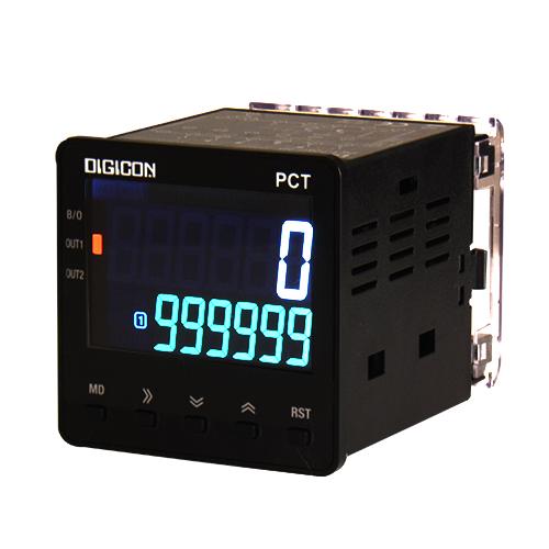 DIGICON PCT-726C เครื่องนับจำนวนและเครื่องตั้งเวลาระบบดิจิตอล