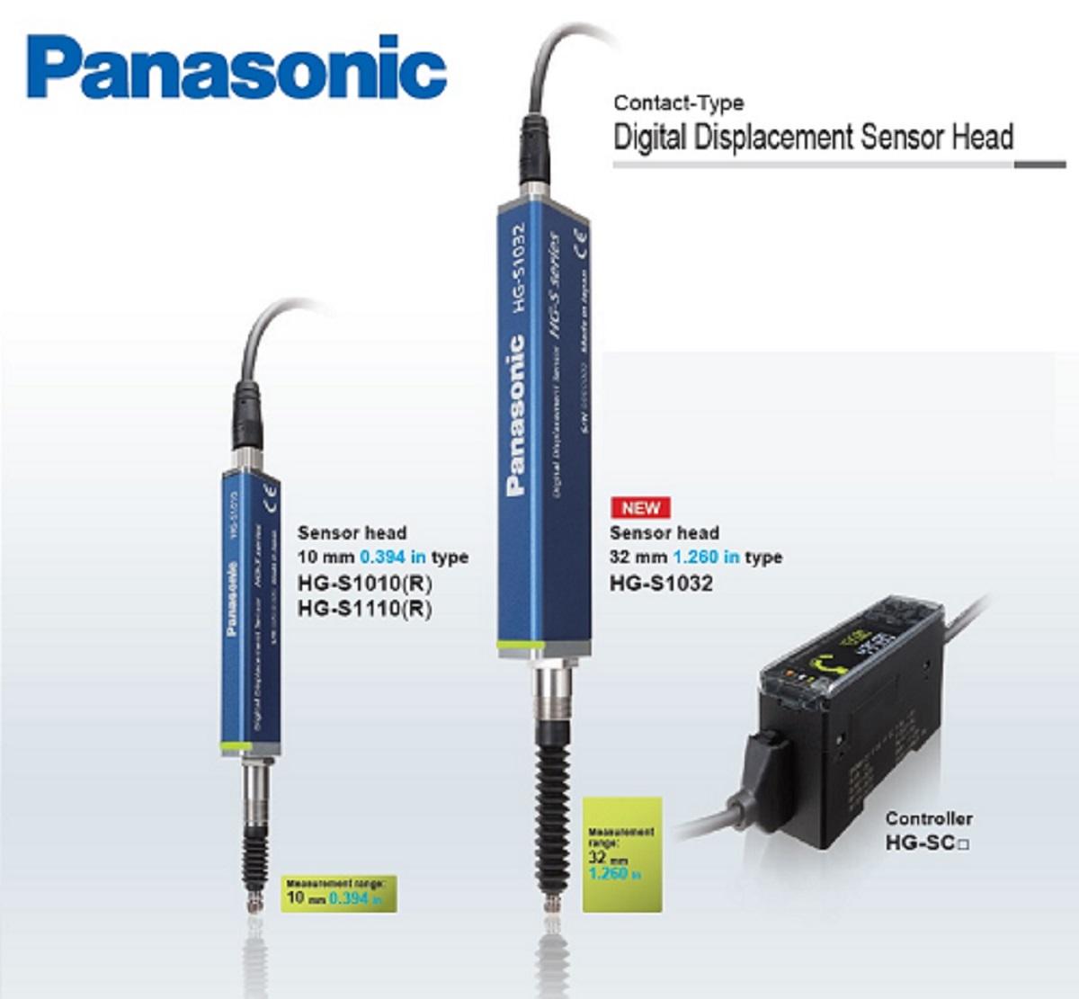 Panasonic / SUNX HG-S SERIES เซนเซอร์สำหรับงานวัดระยะ แบบกดสัมผัส