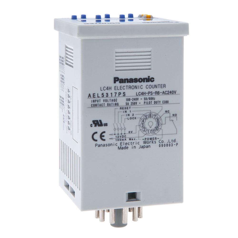 PANASONIC LC4H-R6 , LC4H-PS-R6 series เครื่องนับและตั้งจำนวน