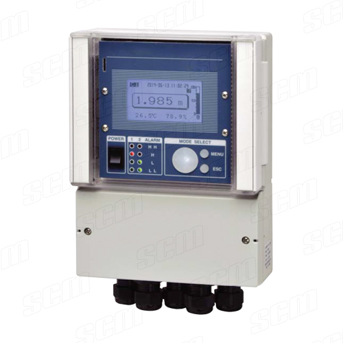 IMARI ID-1200 เครื่องวัดและควบคุมระดับแบบอุลตร้าโซนิค พร้อมหัววัด
