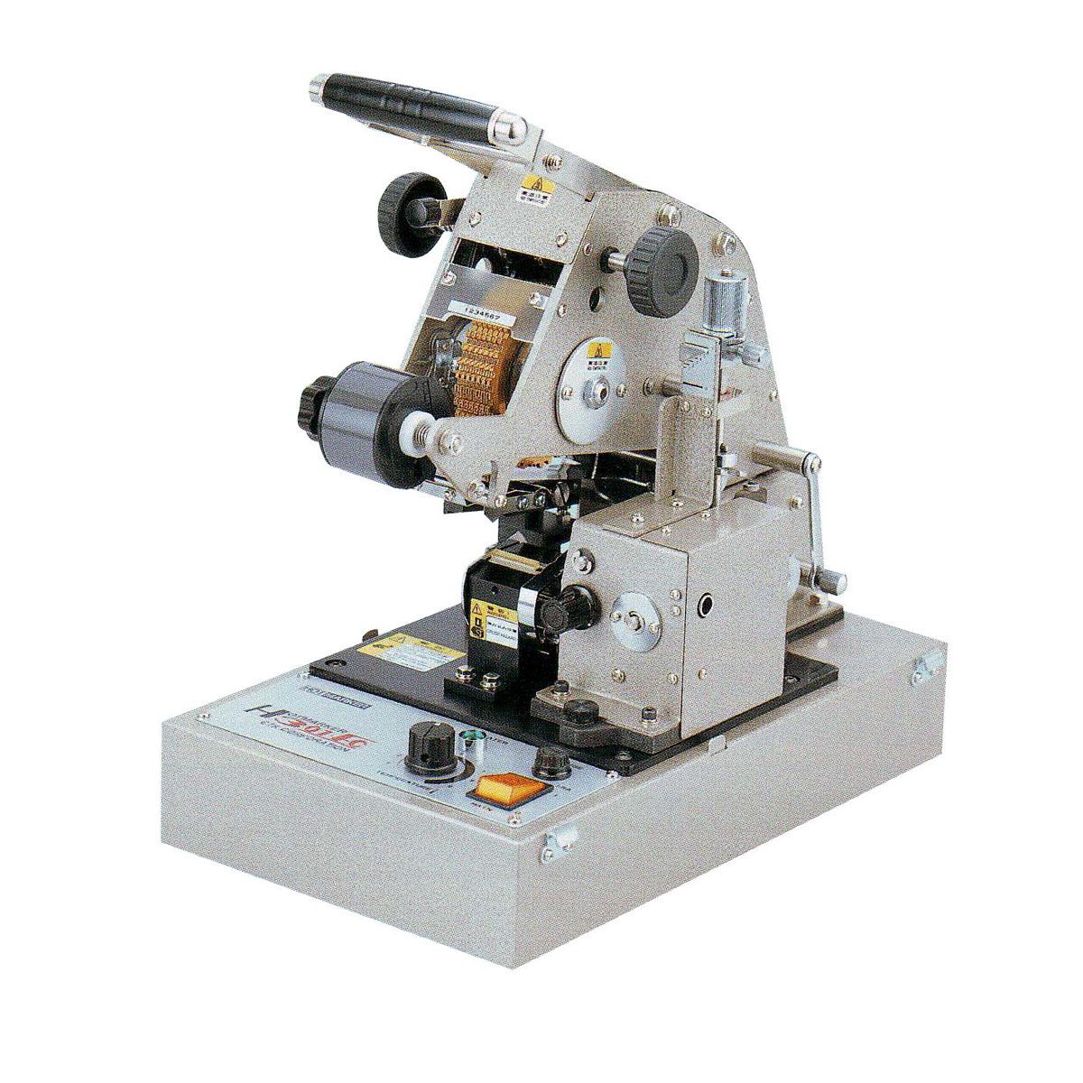 HOTMARKER H301-FC เครื่องพิมพ์ปลอกสาย สายไฟ สติคเกอร์ แบบตั้งโต๊ะ