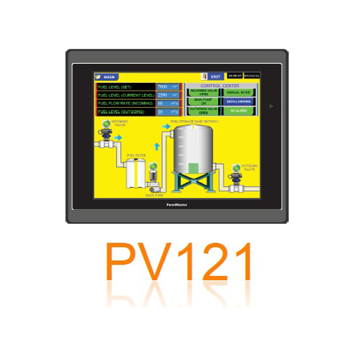 IMARI PT 121 จอสั่งการระบบสัมผัส
