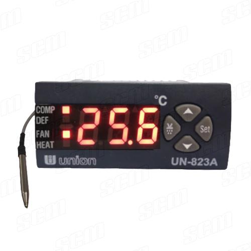 UNION UN-823A เครื่องวัดและควบคุมอุณหภูมิความเย็นสำหรับตู้เย็น-ตู้แช่