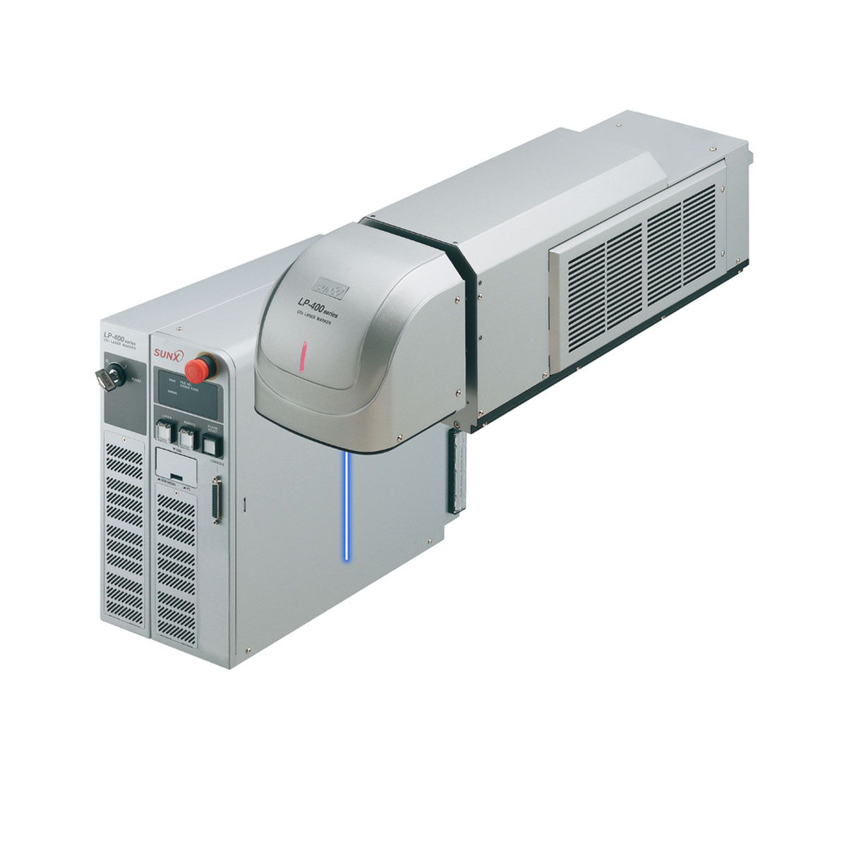 PANASONIC / SUNX LP-400 SERIES เครื่องพิมพ์ตัวอักษรด้วยเลเซอร์ ชนิด CO2 Laser Marker