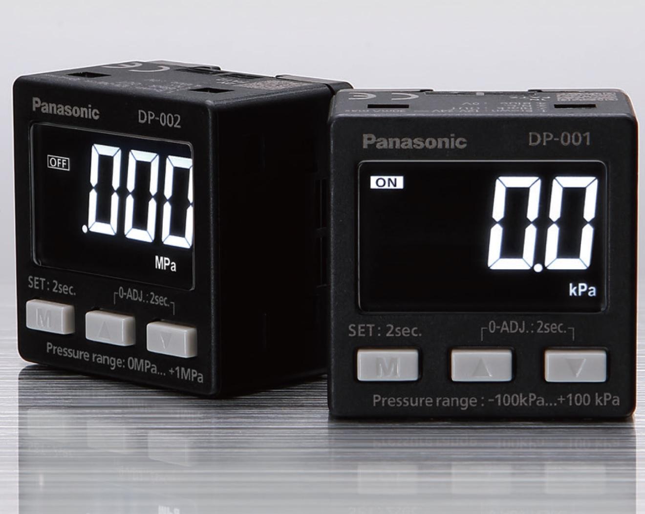 PANASONIC / SUNX DP-0 SERIES เครื่องวัดและควบคุมความดันลม แบบดิจิตอล