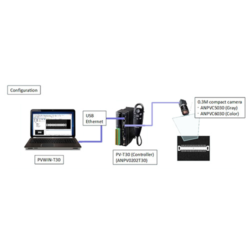PANASONIC PV-T30 กล้องตรวจจับความผิดปกติของชิ้นงานคุณภาพ และความแม่นยำสูง