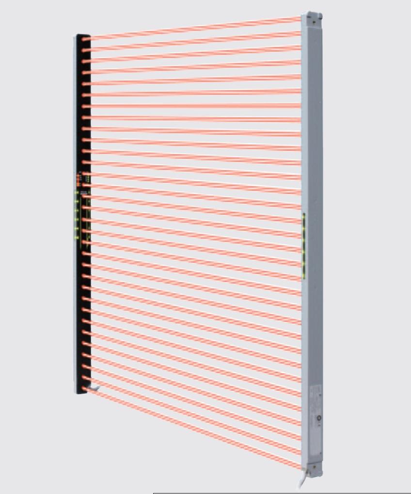 Panasonic / SUNX SF4C SERIES ม่านแสงนิรภัย บางเพียง 13 มิลลิเมตร Type 4