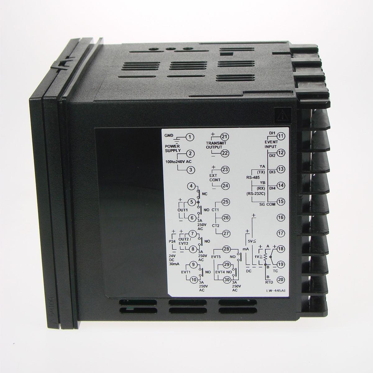 SHINKO ACD / ACR SERIES เครื่องวัด-ควบคุมอุณหภูมิและค่าทางไฟฟ้าแบบดิจิตอล