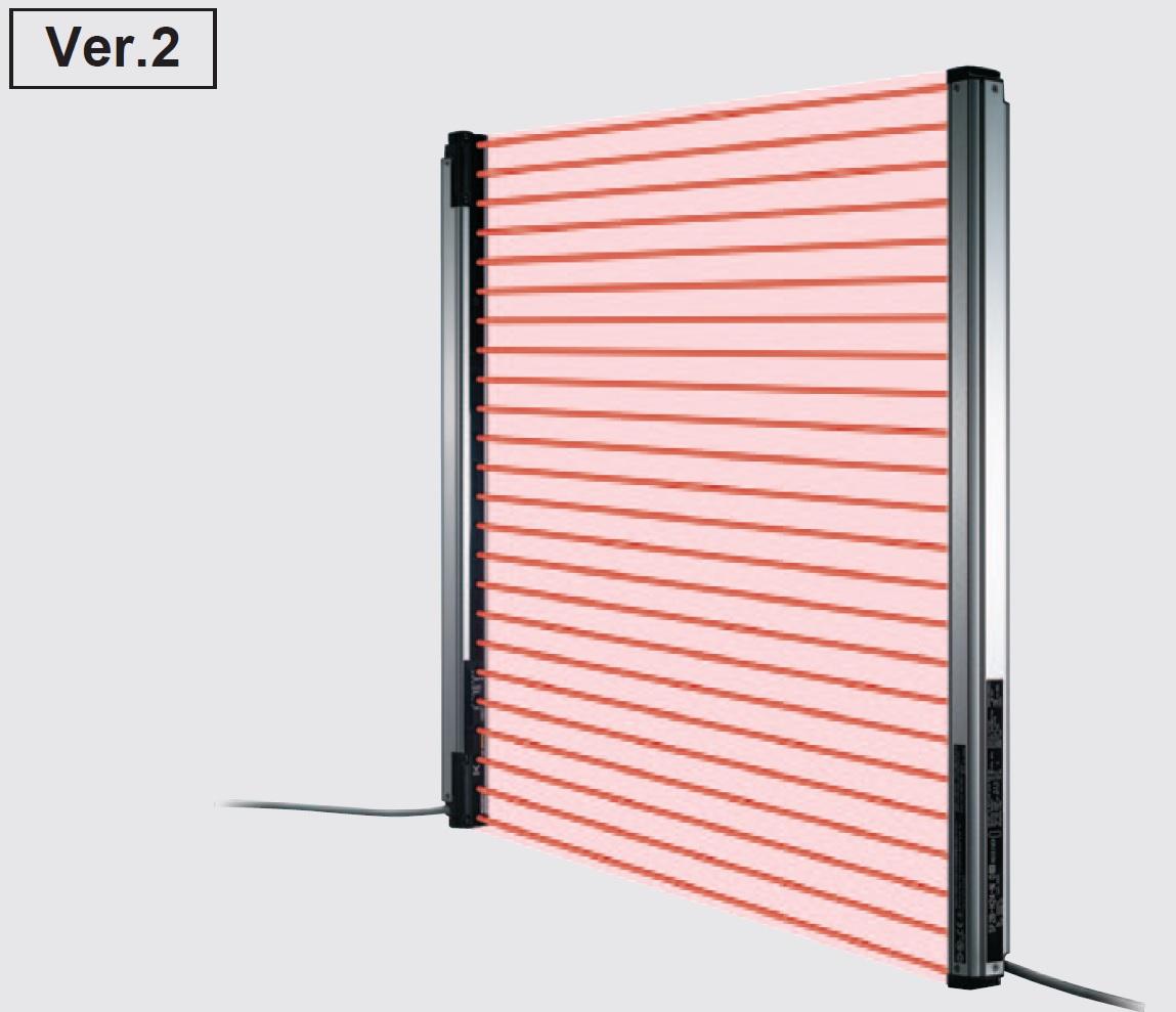 Panasonic / SUNX SF2B SERIES ม่านแสงนิรภัย มาตรฐานความปลอดภัย Type 2