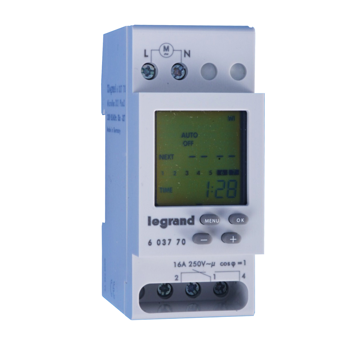 LEGRAND MICROREX D21 Plus 2 นาฬิกาตั้งเวลาแบบดิจิตอล