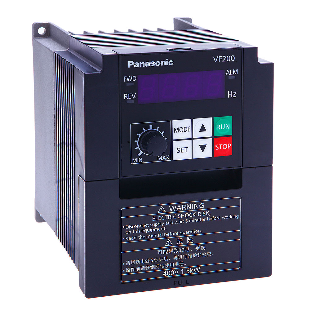 PANASONIC VF200-Series (200V /1 เฟส) อินเวอเตอร์ปรับความเร็วรอบ