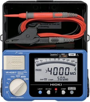 HIOKI IR4057 เครื่องทดสอบความเป็นฉนวน