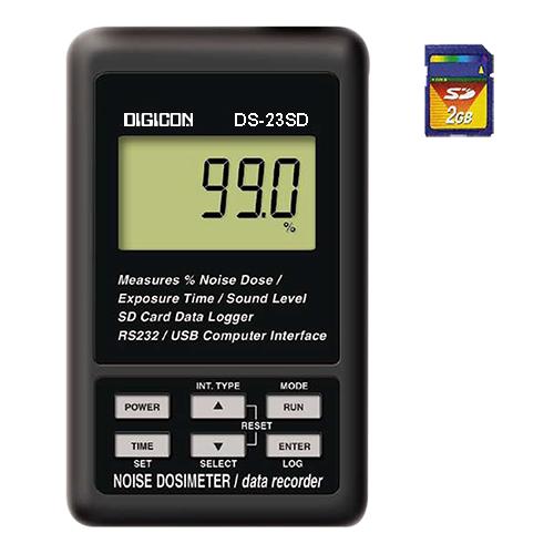 DIGICON DS-23SD เครื่องตรวจวัดและบันทึกปริมาณเสียงสะสม