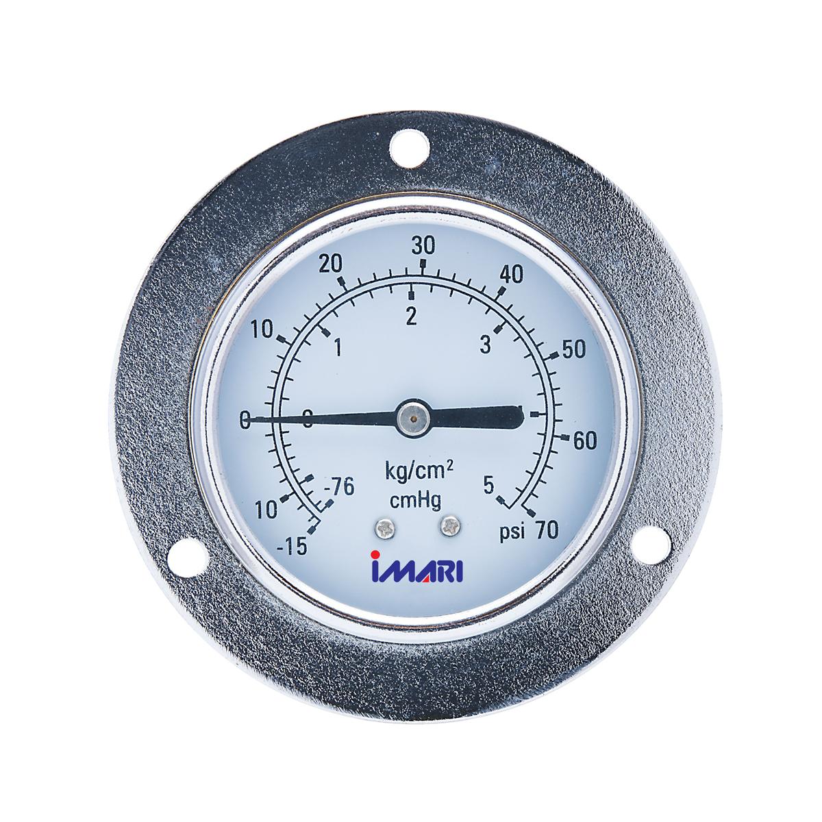 IMARI TYPE BD (COMPOUND) เกจ์วัดความดันและสุญญากาศ