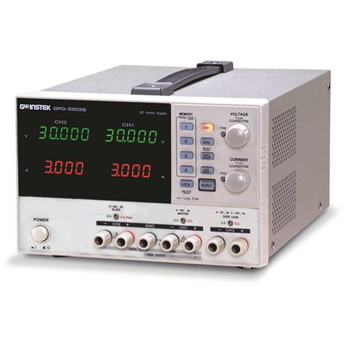 GW INSTEK  GPC-6030D เครื่องจ่ายไฟกระแสตรงเชิงเส้น เอ๊าท์พุท 3 ชุด