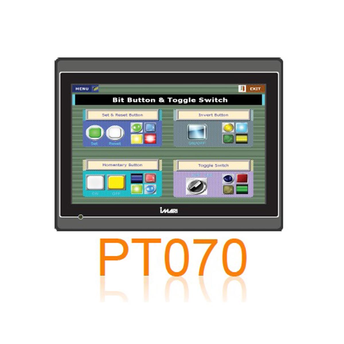 IMARI PT 070 จอสั่งการระบบสัมผัส