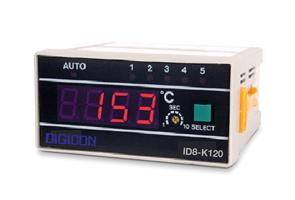 DIGICON ID8-K/P เครื่องวัดอุณหภูมิแบบดิจิตอลแบบ 5 จุด