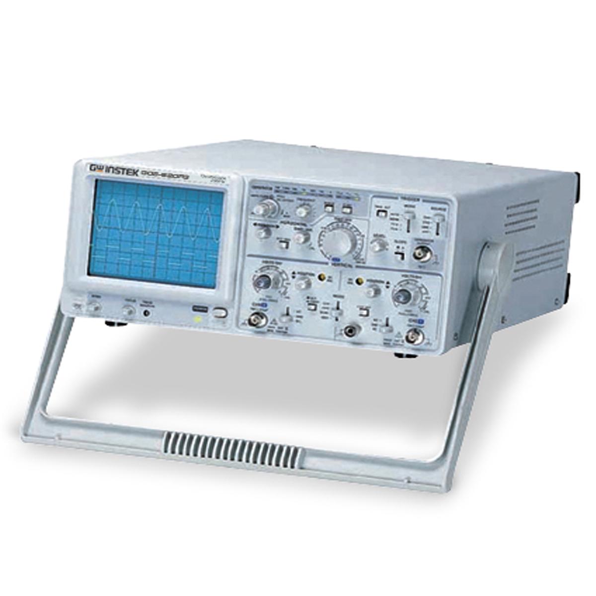 GW-INSTEK GOS-630FC อนาล็อกออสซิลโลสโคป + เครื่องกำเนิดสัญญาณ