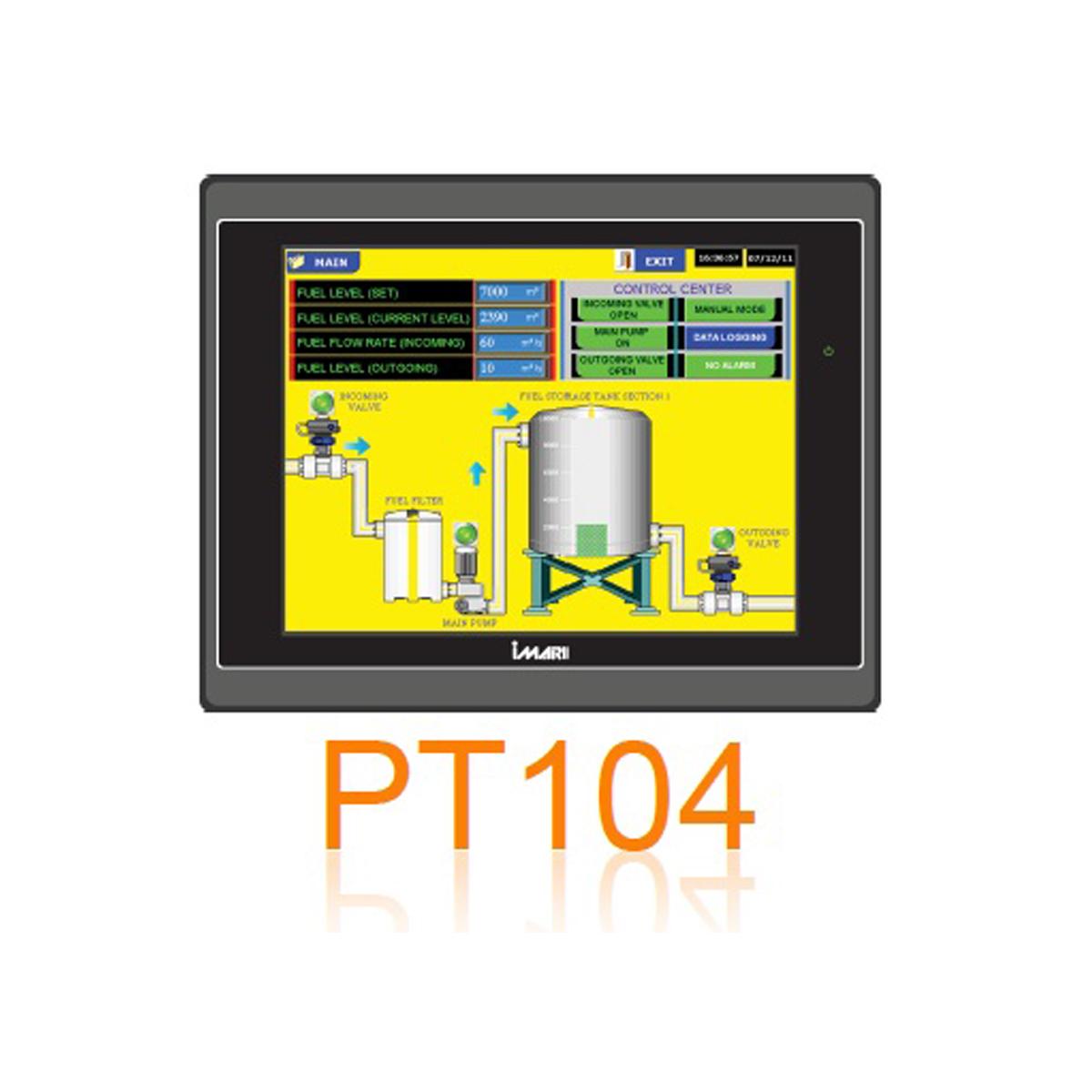 IMARI PT 104 จอสั่งการระบบสัมผัส
