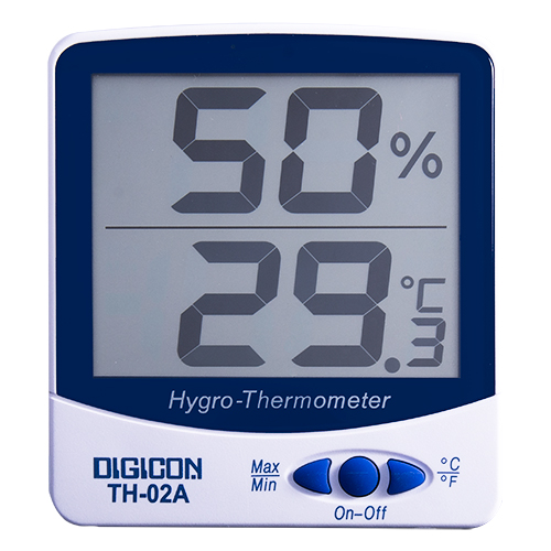 DIGICON TH-02A มิเตอร์วัดอุณหภูมิ และความชื้นแบบอิเล็กทรอนิกส์