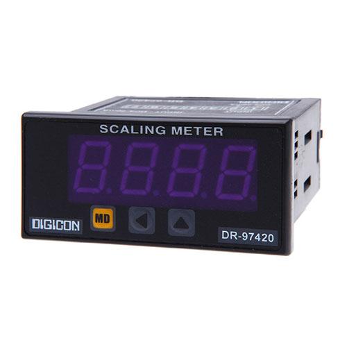 DIGICON DR-97420 มิเตอร์ติดแผงสวิทช์บอร์ดสำหรับวัดสัญญาณอนาล็อก 4~20mA
