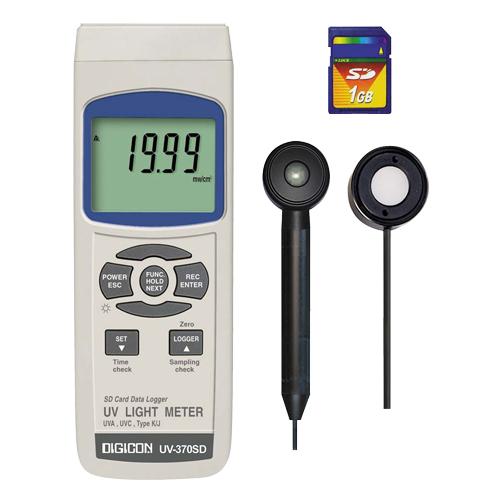 DIGICON UV-370SD เครื่องวัดแสงยูวี บันทึกค่าผ่าน SD card