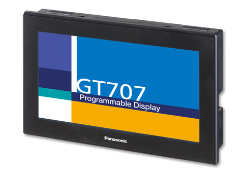 PANASONIC GT707 จอภาพระบบสัมผัสแบบโปรแกรมได้
