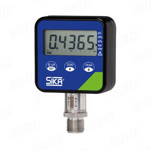 SIKA Type P เกจ์วัดความดันและสุญญากาศสำหรับอ้างอิง แบบดิจิตอล