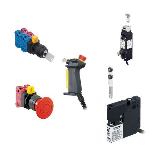 PANASONIC SG SERIES  สิทช์ประตูนิรภัยและปุ่มกดฉุกเฉิน Safety Door Switch & Emergency Stop Switch