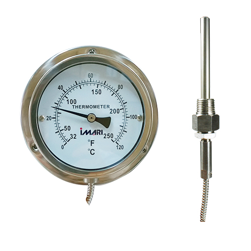 IMARI SGC-100 (I) เกจ์วัดอุณหภูมิแบบท่อแคปปิลารี่